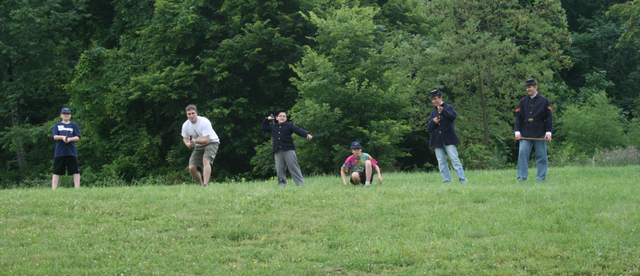 Civil War camp2013