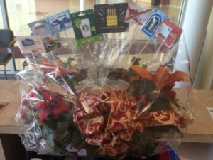 Auction basket giftcards