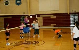 Volleyball prac 13-14