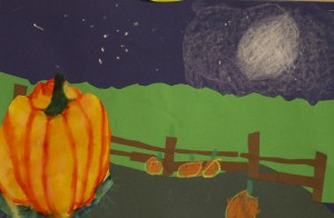 3rdgrade pumpkins_10-2013