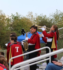 Warrior Marching Band Soccer 2015