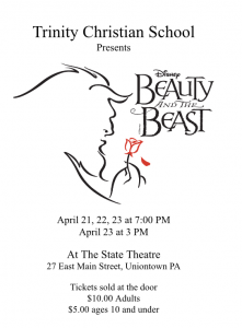 Beauty and the Beast Flier 2016