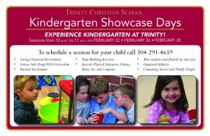 Kindergarten Showcase Day @ Trinity Christian School | Morgantown | West Virginia | United States