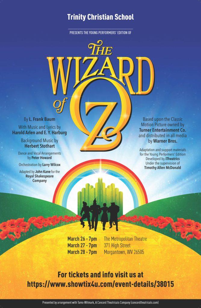 Wizard of Oz - Postponed @ Metropolitan Theatre