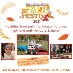 Fall Festival @ Trinity Christian School